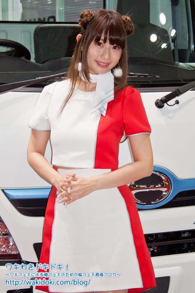 東京モーターショー2017日野イベントコンパニオン日野礼香画像