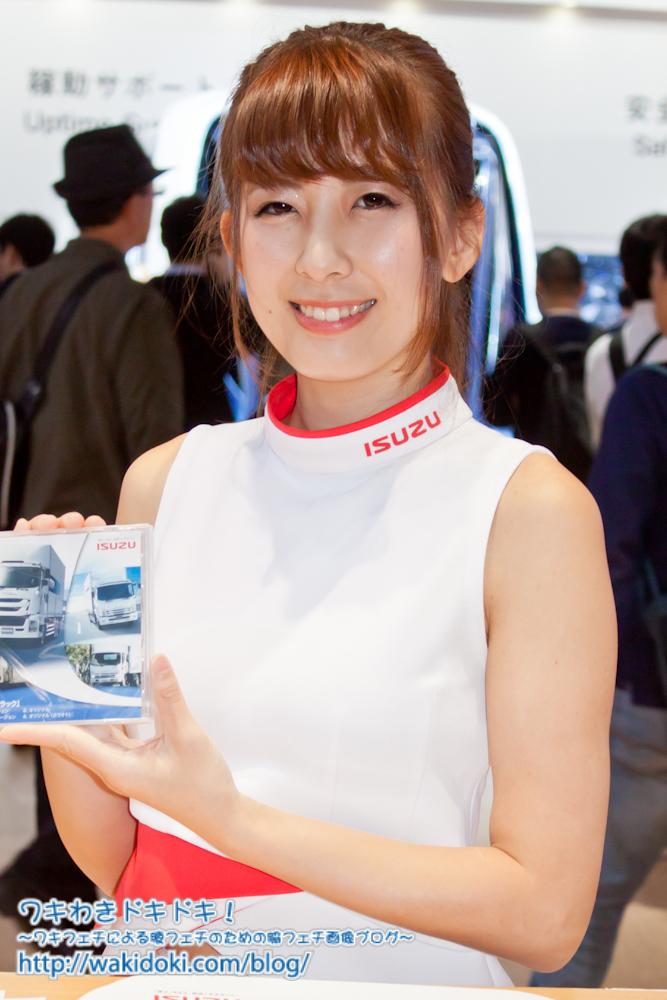 東京モーターショー2017いすゞイベントコンパニオン&レースクイーン画像