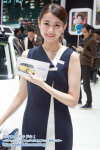 東京モーターショー2017フォルクスワーゲンイベントコンパニオン画像