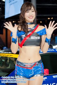 東京モーターショー2017SUBARU BRZ GT GALS BREEZEレースクイーン画像