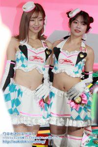 東京オートサロン2020 メルセデス・ベンツブース レーシングミクサポーターズ2019 レースクイーン画像