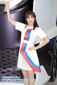 東京モーターショー2019いすゞブースイベントコンパニオン画像