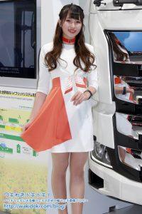 東京モーターショー2019日野/UDトラックス/三菱ふそうブースイベントコンパニオン画像