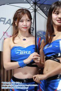 東京モーターショー2019スバルブース SUBARU BRZ GT GALS BREEZE レースクイーン画像