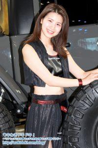 東京オートサロン2020TOYOTIRES/NITTO/GOODYEAR/DUNLOPコンパニオン画像