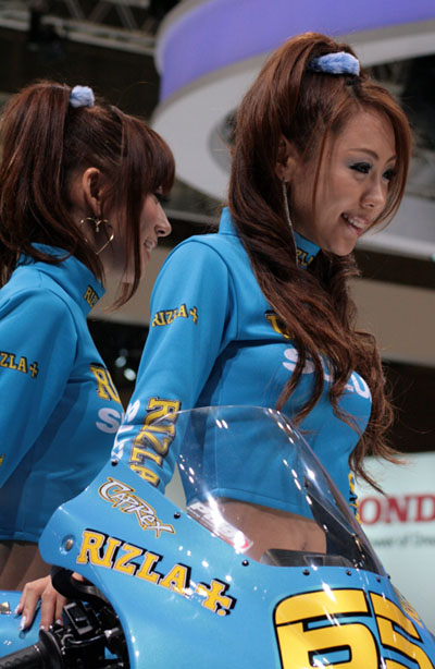 東京モーターショー2009レースクイーン画像