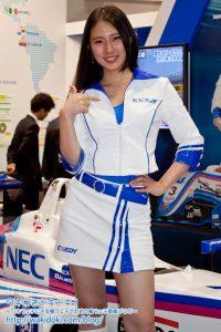 東京モーターショー2017 EXEDY Racing Girlsレースクイーンイベントコンパニオン画像