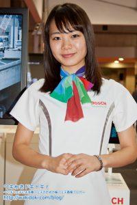 東京モーターショー2017 BOSCHイベントコンパニオン画像