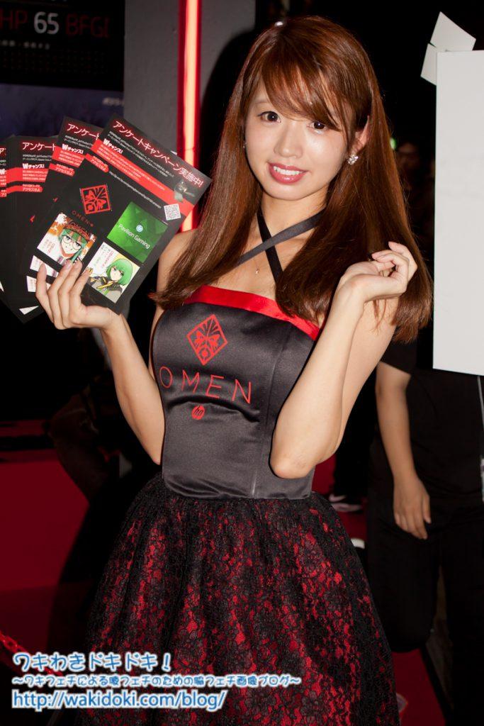 東京ゲームショウ2018のイベントコンパニオン画像