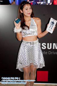 江藤菜摘SamsungSSD東京ゲームショウ2018のイベントコンパニオン画像